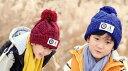 子供 ニット帽 子ども キッズ 子供ニット帽 冬 子供 ニット帽子 ワッペン ニット 帽子