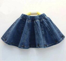 子供 デニムスカート 女の子 スカート 子供服 デザインデニム キッズ スカート 子供 デニム