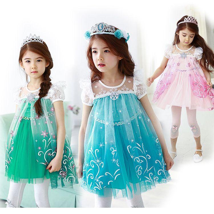 ハロウィン 衣装 子供 アナと雪の女王 エルサ風ワンピース エルサドレス 女の子 ワンピース アナ雪 エルサ ドレス プレセント ディズニー コスチューム