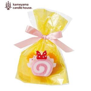 【カメヤマキャンドル】スイーツキャンドルディズニースイーツキャンドル「ピンクロールケーキ」ロウソク蝋燭ケーキギフト/プチギフト/プレゼント