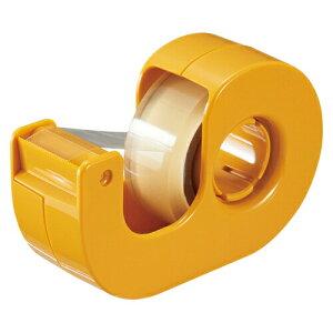 (まとめ) セロハンテープ ニチバン セロテープ[R] 小巻カッターつき まっすぐ切れるタイプ イエロー CT-15DCY 4987167090937 ●テープ寸法:幅15mm×長9m 1個【50×セット】