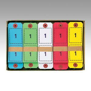 【ポイント20倍】(まとめ) 荷札 オープン 連番荷札 BF-105 4970115552113 1箱【5×セット】