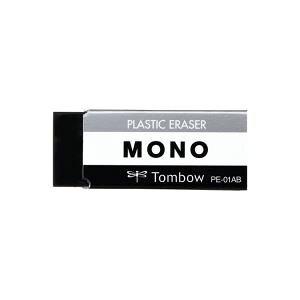 【ポイント20倍】(まとめ)トンボ鉛筆 消しゴム モノブラック PE-01AB【×60セット】