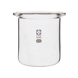 【ポイント20倍】【柴田科学】セパラブルフラスコ 円筒形 バンド式 85mm 1L 005820-1000