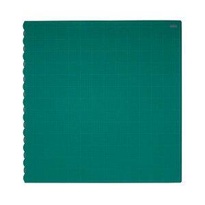 【ポイント20倍】(まとめ)TANOSEE二つ折りデスクサイズカッターマット 690×1340mm 1枚【×3セット】