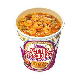【ポイント20倍】(まとめ)日清食品 カップ ヌードルトムヤムクンヌードル 75g 1ケース(12食)【×2セット】