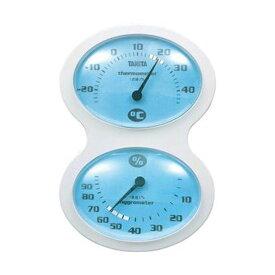 【マラソンでポイント最大43.5倍】(まとめ)タニタ 温湿度計 ブルーTT-509-BL 1個【×10セット】