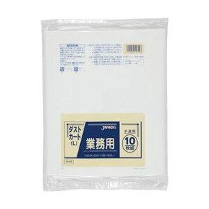 【ポイント20倍】(まとめ)ジャパックス 業務用ダストカート用ごみ袋半透明 150L DK99 1パック(10枚)【×20セット】