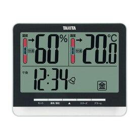 【マラソンでポイント最大43倍】タニタ 温湿度計 ブラックTT-538BK 1個