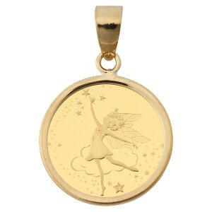 純金 K24 フェアリー 妖精 1/25oz 金貨 コイン ペンダントトップ シンプル K18 枠 送料無料 新品 送料無料 メンズ レディース プレゼント ギフト 贈り物 誕生日 人気 おしゃれ かわいい かっこい