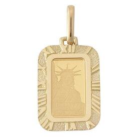 純金 K24 インゴット 1g ペンダントトップ リバティ 自由の女神 アラベスク 時計文字 デザイン枠 新品 送料無料 メンズ レディース プレゼント ギフト 贈り物 誕生日 人気 おしゃれ かわいい かっこいい アクセサリー 首飾り ネックレス ヘッド チャーム