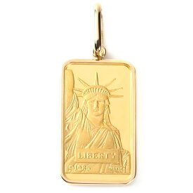 純金 K24 インゴット 20g ペンダントトップ リバティ自由の女神 シンプル K18 枠 新品 送料無料 メンズ レディース プレゼント ギフト 贈り物 誕生日 人気 おしゃれ かわいい かっこいい アクセサリー 首飾り ネックレス ヘッド チャーム
