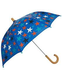 【訳あり】軽量 長傘 日傘 日よけにも Hatley ハットレイ 傘 子供用 キッズ 男の子 女の子 人気 星柄 おすすめ ブランド セレブ愛用 プレゼント ギフト 持ち手 木製 露先丸 安全 手開き スター 雨傘 梅雨 梅雨対策 レイングッズ 子ども こども おしゃれ