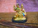 インドの神様ガネーシャの置物 カラフルバージョン23ファミリーバージョン!!/エスニック/アジアン雑貨
