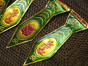 ガネーシャとラクシュミのヒンズー祭用お飾りその5/エスニック/アジアン雑貨(ポスト投函配送選択可能です)
