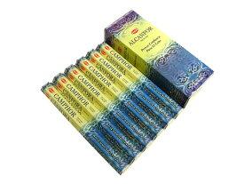 お香 カンファー香 スティック /HEM CANPHOR/インセンス/インド香/アジアン雑貨(6箱セット!ポスト投函配送選択可能です/送料1通分が掛かります)