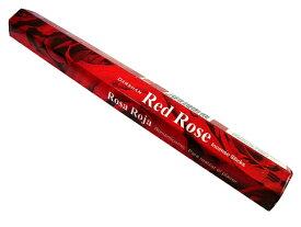 お香 ダルシャン レッドローズ香 スティック /DARSHAN RED ROSE/インセンス/インド香/アジアン雑貨(ポスト投函配送選択可能です/6箱毎に送料1通分が掛かります)