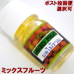 アロマオイル5ml-ミックスフルーツMIXEDFRUIT(クリアボトルシリーズ)/アジアン雑貨(ポスト投函配送選択可能です)
