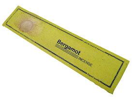 お香 ネパールのロクタ紙にヒマラヤの押し花のお香(Bergamotベルガモット) スティック /オールナチュラル&オールハンドメイドインセンス/インド香やネパール香/アジアン雑貨(ポスト投函配送選択可能です/6箱毎に送料1通分が掛かります)