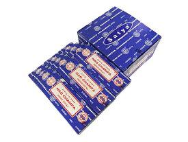 お香 サイババ ナグチャンパ香ドゥープ/SATYA SAI BABA NAG CHAMPA DHOOP/インセンス/インド香/アジアン雑貨(12箱セット!ポスト投函配送選択で送料無料/他商品同梱不可です!)