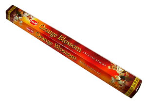 お香 オレンジブロッサム香 スティック /HEM ORANGE BLOSSOM/インセンス/インド香/アジアン雑貨(ポスト投函配送選択可能です/6箱毎に送料1通分が掛かります)