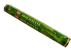 お香 モルダバイト香 スティック /HEM MOLDAVITE/インセンス/インド香/アジアン雑貨(ポスト投函配送選択可能です/6箱毎に送料1通分が掛かります)