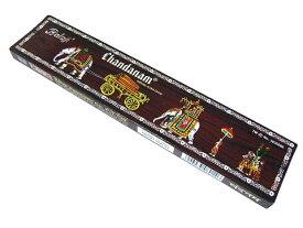 お香 チャンダナム香 スティック /BALAJI CHANDANAM/インセンス/インド香/アジアン雑貨(ポスト投函配送選択可能です/3箱毎に送料1通分が掛かります)