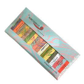 お香 インド香オウロシカミニパレット18種類の香りアソート スティック !/AUROSHIKHA/インセンス/インド香/アジアン雑貨(ポスト投函配送選択可能です/2箱毎に送料1通分が掛かります)