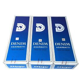 お香 デニム香スティック 卸おまとめプライス3BOX(18箱)/SHASHI DENIM/インセンス/インド香/ネコポス送料無料