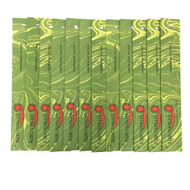 AUROSHIKHA オウロシカ(LEMONGRASSレモングラス12個セット) マーブルパッケージスティック /インセンス/インド香