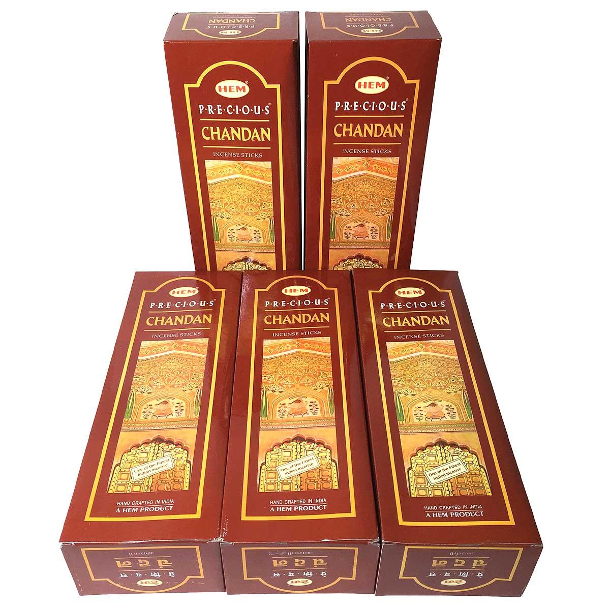 お香 チャンダン香 スティック 卸おまとめプライス5BOX(30箱)CHANDAN / インド香 / 宅配便送料無料