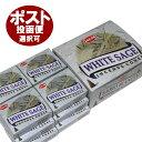 お香 ホワイトセージ香 コーンタイプ /HEM WHITE SAGE CORN/インセンス/インド香/アジアン雑貨(12箱セット!DM便選択で送料99円)