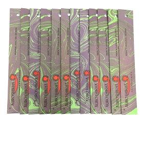 AUROSHIKHA オウロシカ(FRENCHLAVENDERフレンチラベンダー12個セット) マーブルパッケージスティック /お香/インセンス/インド香