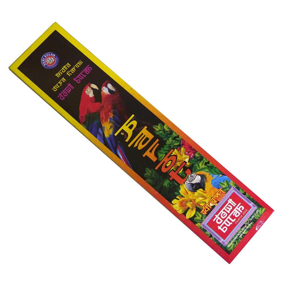お香 バリのお香DEWI BULANデヴィブラン PAROTパロット スティック /バリ島より直輸入!/インセンス/インド香/アジアン雑貨(ポスト投函配送選択可能です/6箱毎に送料1通分が掛かります)