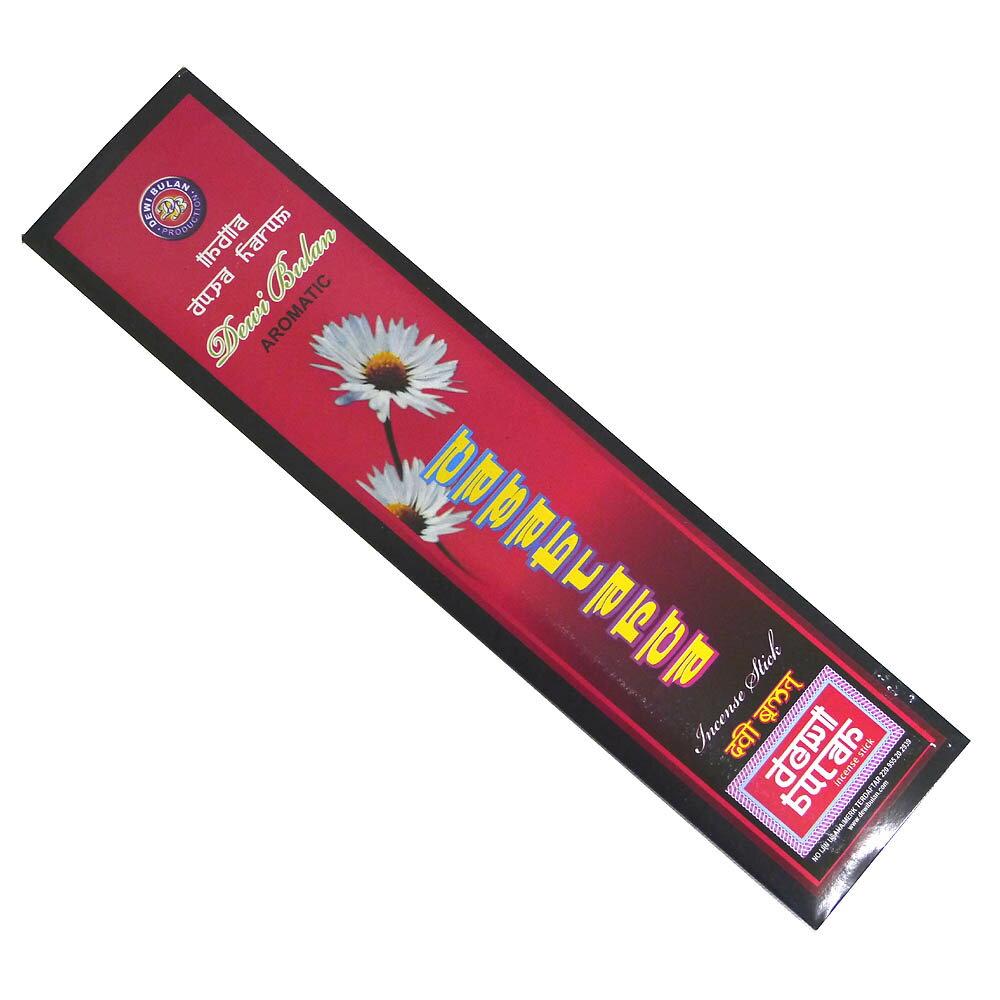 お香 バリのお香DEWI BULANデヴィブラン CASABLANCAカサブランカ スティック /バリ島より直輸入!/インセンス/インド香/アジアン雑貨(ポスト投函配送選択可能です/6箱毎に送料1通分が掛かります)