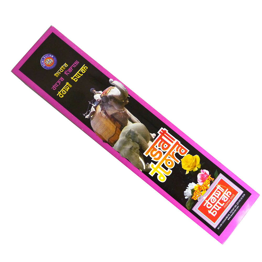 お香 バリのお香DEWI BULANデヴィブラン SAI FLORAサイフローラ スティック /バリ島より直輸入!/インセンス/インド香/アジアン雑貨(ポスト投函配送選択可能です/6箱毎に送料1通分が掛かります)
