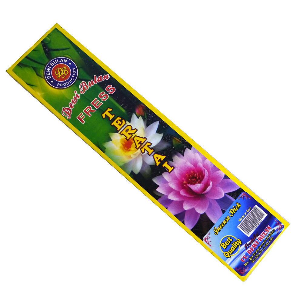 お香 バリのお香DEWI BULANデヴィブラン TERATAIテラタイ スティック /バリ島より直輸入!/インセンス/インド香/アジアン雑貨(ポスト投函配送選択可能です/6箱毎に送料1通分が掛かります)