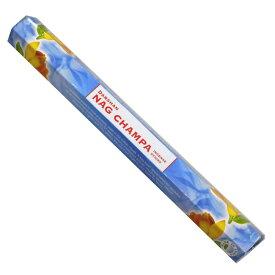 お香 ダルシャン ナグチャンパ香 スティック /DARSHAN NAG CHAMPA/インセンス/インド香/アジアン雑貨(ポスト投函配送選択可能です/6箱毎に送料1通分が掛かります)