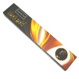 お香 ブラックゴールド香 スティック /NANDITA BLACK GOLD/インセンス/インド香/アジアン雑貨(ポスト投函配送選択可能です/6箱毎に送料1通分が掛かります)