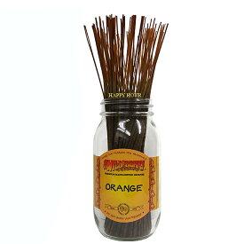 お香 全40種類WILD BERRYワイルドベリー(オレンジ)オリジナルジップパック10本入り スティック /アメリカンインセンス/アメリカ雑貨(ポスト投函配送選択可能です/6箱毎に送料1通分が掛かります)
