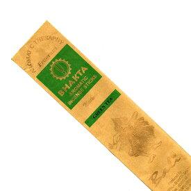 お香 バリのお香BHAKTA GREENTEAグリーンティー スティック /BALI BHAKTA バクタ(バキタ)/バリ島より直輸入/インセンス/インド香/アジアン雑貨(ポスト投函配送選択可能です/6箱毎に送料1通分が掛かります)