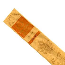 お香 バリのお香BHAKTA ORANGEオレンジ/BALI BHAKTA バクタ(バキタ) スティック /バリ島より直輸入/インセンス/インド香/アジアン雑貨(ポスト投函配送選択可能です/6箱毎に送料1通分が掛かります)