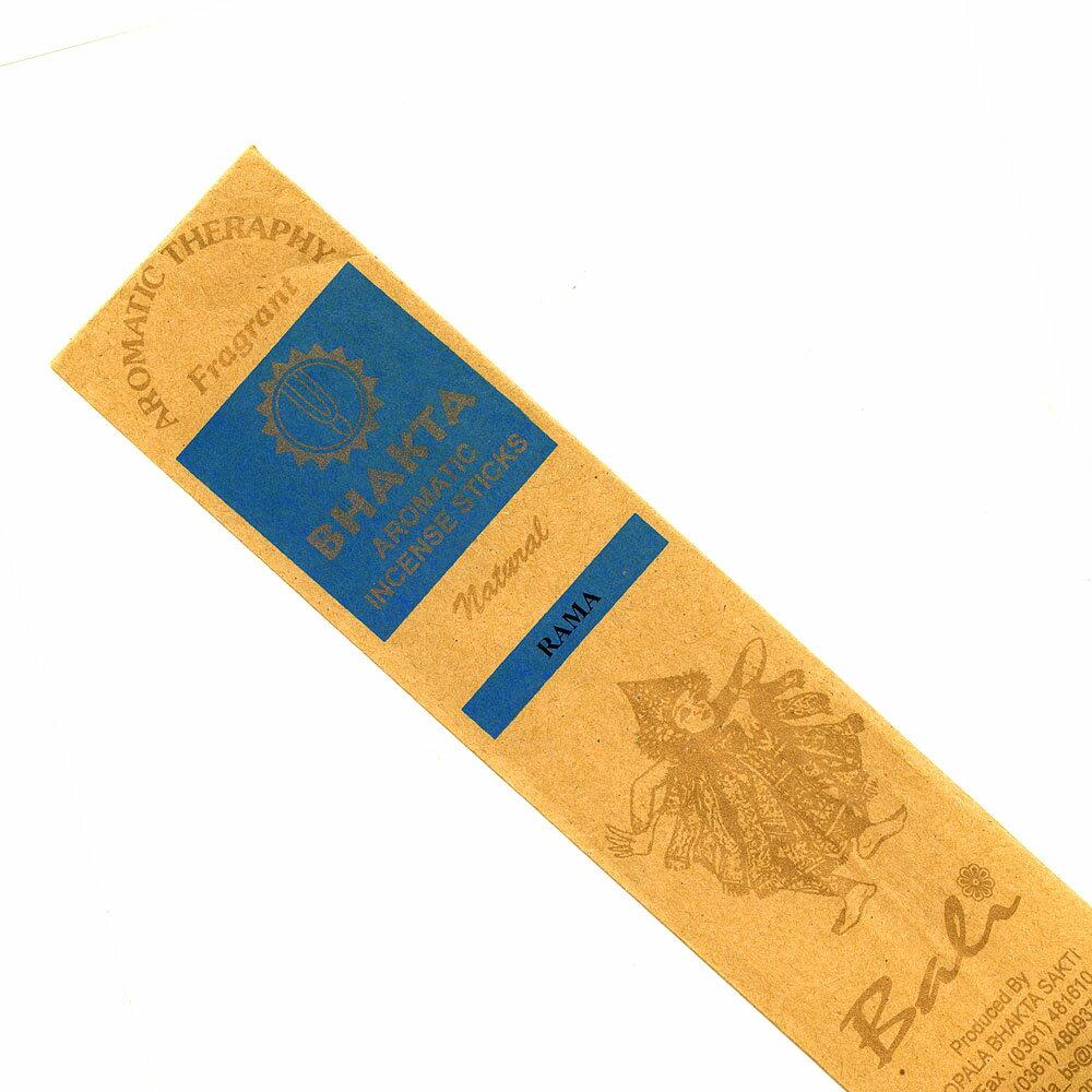 お香 バリのお香BHAKTA RAMAラマ スティック /BALI BHAKTA バクタ(バキタ)/バリ島より直輸入/インセンス/インド香/アジアン雑貨(ポスト投函配送選択可能です/6箱毎に送料1通分が掛かります)