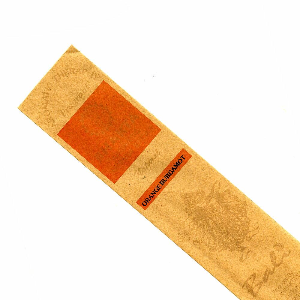 お香 バリのお香BHAKTA BERGAMUTオレンジベルガモット スティック /BALI BHAKTA バクタ(バキタ)/バリ島より直輸入/インセンス/インド香/アジアン雑貨(ポスト投函配送選択可能です/6箱毎に送料1通分が掛かります)