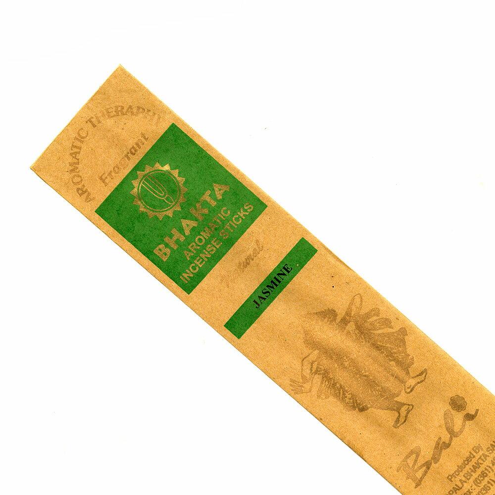 お香 バリのお香BHAKTA JASMINEジャスミン スティック /BALI BHAKTA バクタ(バキタ)/バリ島より直輸入/インセンス/インド香/アジアン雑貨(ポスト投函配送選択可能です/6箱毎に送料1通分が掛かります)