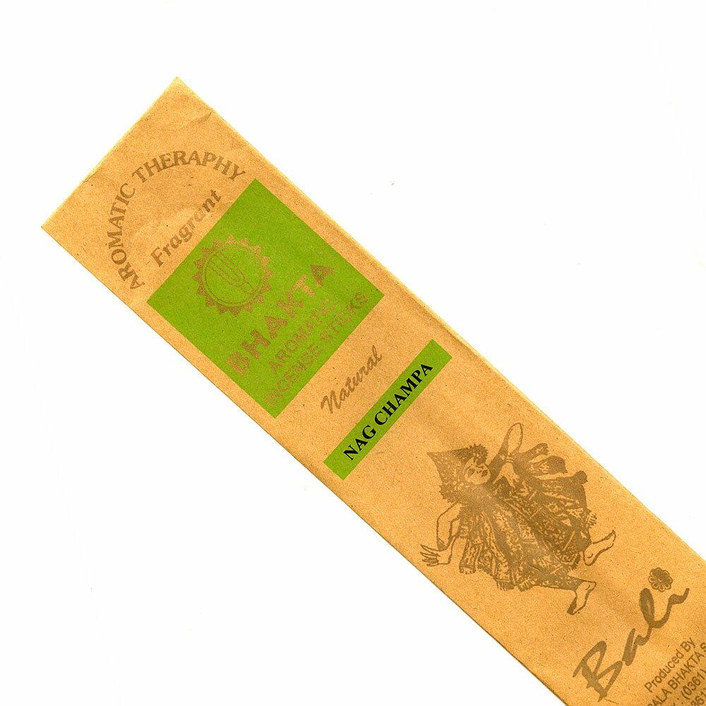 お香 バリのお香BHAKTA NAG CHAMPAナグチャンパ スティック /BALI BHAKTA バクタ(バキタ)/バリ島より直輸入/インセンス/インド香/アジアン雑貨(ポスト投函配送選択可能です/6箱毎に送料1通分が掛かります)