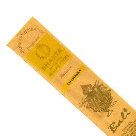 お香 バリのお香BHAKTA CHAMPAKAチャンパカ スティック /BALI BHAKTA バクタ(バキタ)/バリ島より直輸入/インセンス/インド香/アジアン雑貨(ポスト投函配送選択可能です/6箱毎に送料1通分が掛かります)