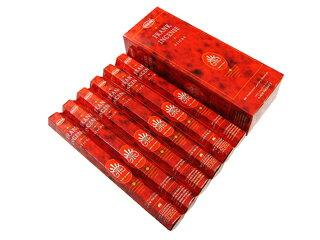 お香 フランキンセンス香 スティック /HEM FRANKINCENSE/インセンス/インド香/アジアン雑貨(6箱セット!ポスト投函配送選択可能です/送料1通分が掛かります)