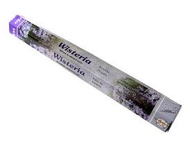 お香 ウィステリア香 スティック /FLUTE WISTERIA/インセンス/インド香/アジアン雑貨(ポスト投函配送選択可能です/6箱毎に送料1通分が掛かります)