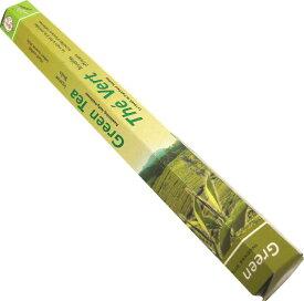 お香 グリーンティー香 スティック /FLUTE GREEN TEA/インセンス/インド香/アジアン雑貨(ポスト投函配送選択可能です/6箱毎に送料1通分が掛かります)